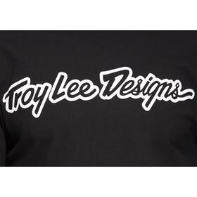 Troy Lee Designs Signature Camisetas Hombre, negro